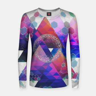Triangle Planet  Women sweater Bild der Miniatur