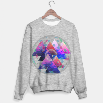 Triangle Planet  Sweater regular Bild der Miniatur