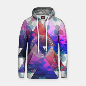 Thumbnail image of Triangle Planet  Hoodie, Live Heroes