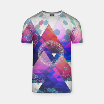 Miniatur Triangle Planet  T-shirt, Live Heroes