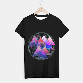 Triangle Planet  T-shirt regular Bild der Miniatur
