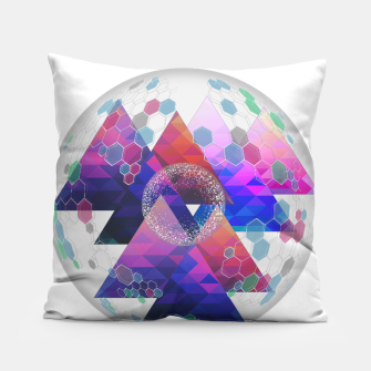 Triangle Planet  Pillow Bild der Miniatur