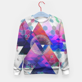 Triangle Planet  Kid's sweater Bild der Miniatur
