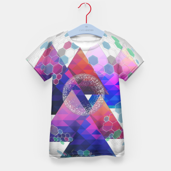 Triangle Planet  Kid's t-shirt Bild der Miniatur