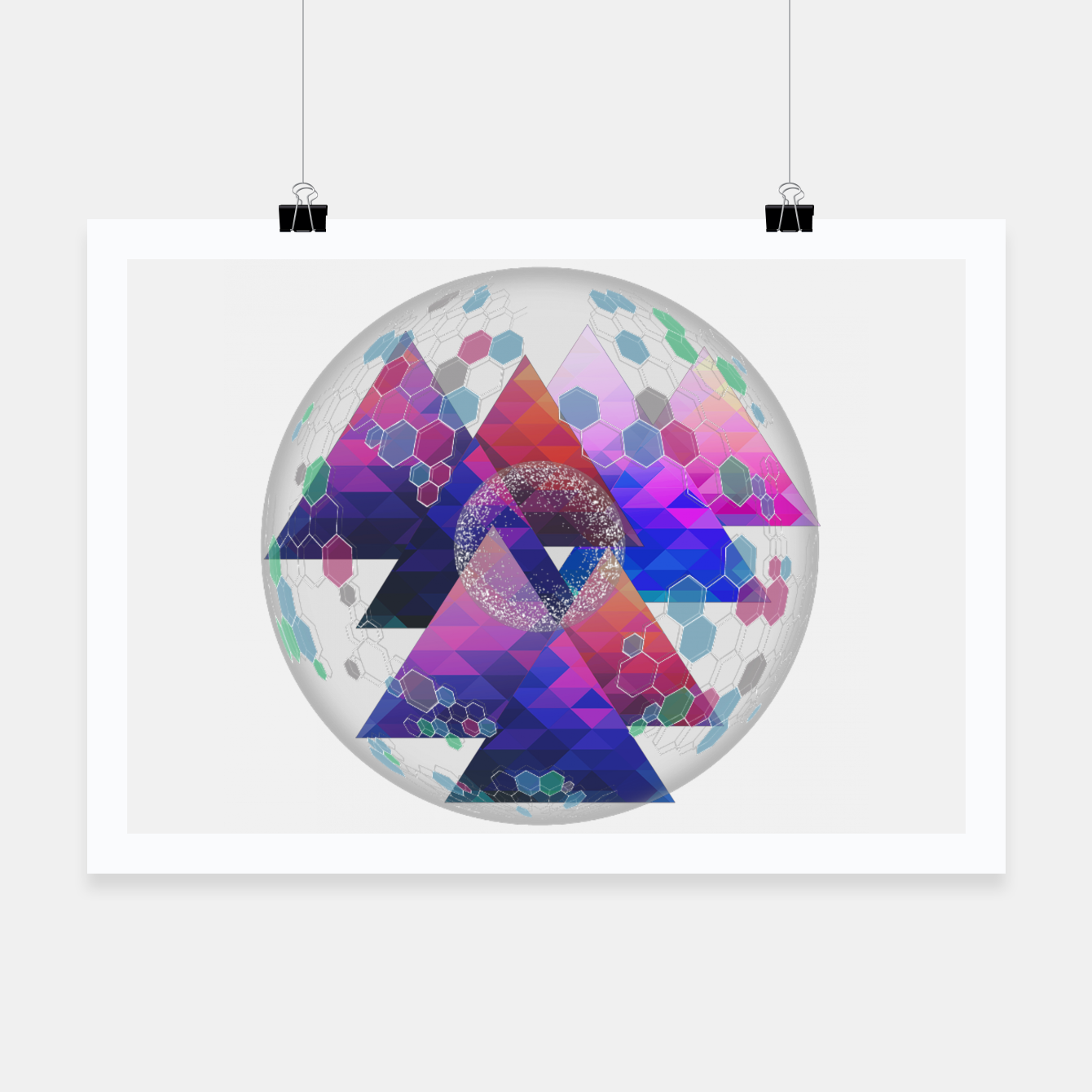 Foto Triangle Planet  Poster - Live Heroes