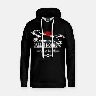 Thumbnail image of BASSET HOUND - the Special One Hoodie, Live Heroes