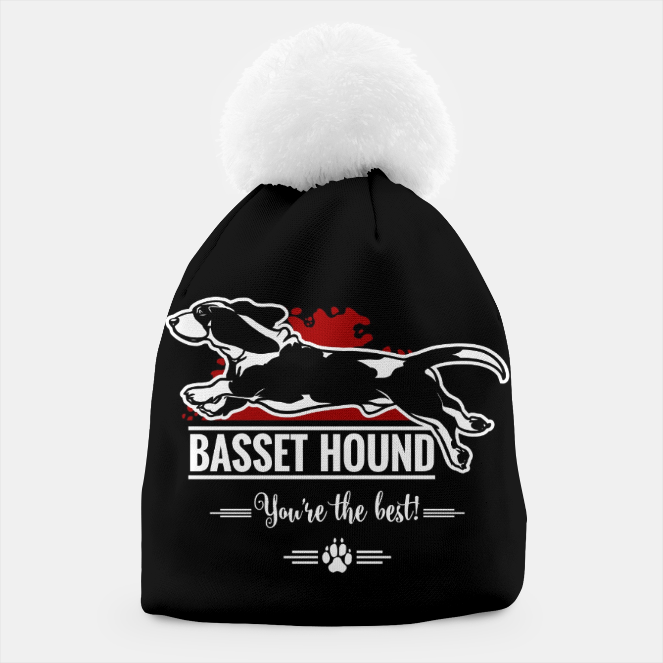 Image of BASSET HOUND - the Special One Beanie - Live Heroes