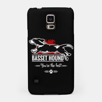 Thumbnail image of BASSET HOUND - the Special One Samsung Case, Live Heroes