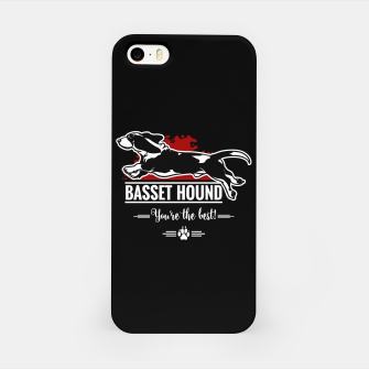 Thumbnail image of BASSET HOUND - the Special One iPhone Case, Live Heroes