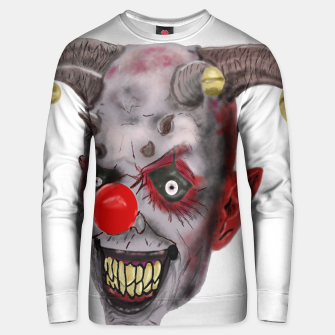 Thumbnail image of Clown Unisex sweater, Live Heroes