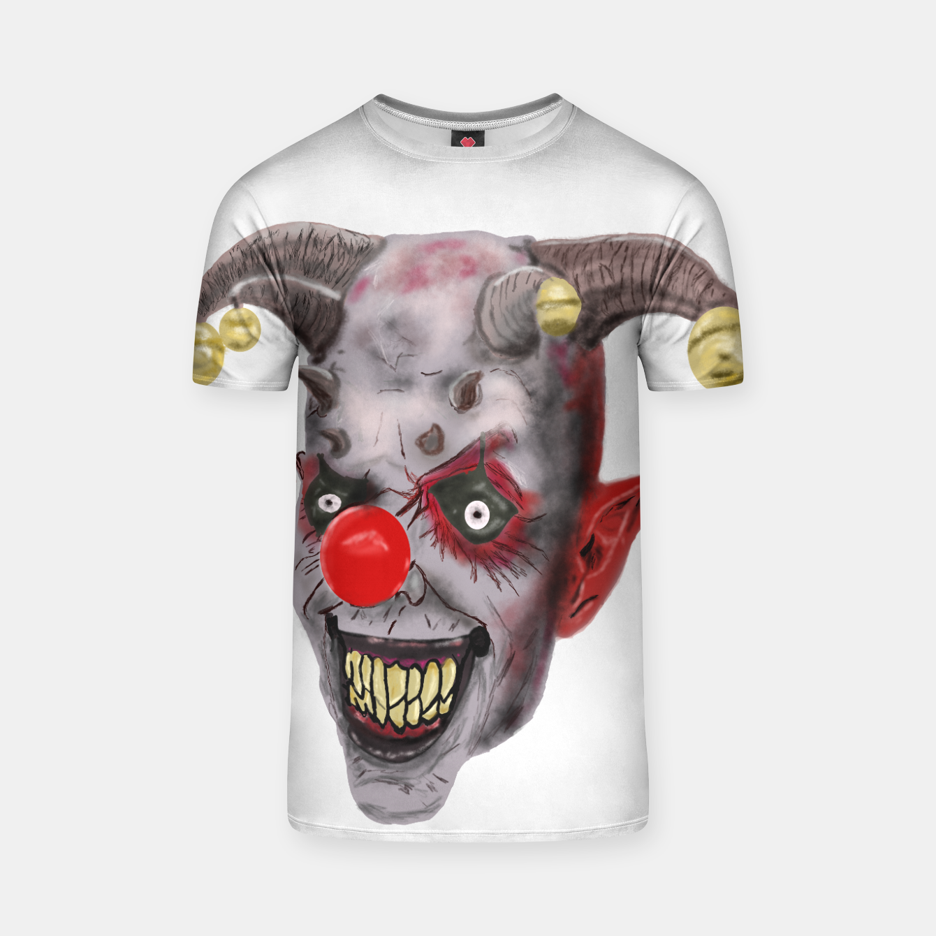 Image of Clown T-shirt - Live Heroes