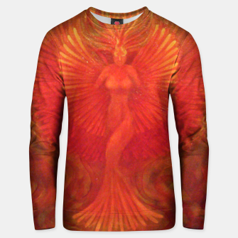 Thumbnail image of Phoenix Rising Unisex sweater, Live Heroes