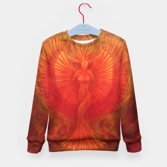 Thumbnail image of Phoenix Rising Kid's sweater, Live Heroes