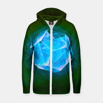 Thumbnail image of Cool Art-I-Fact  Zip up hoodie, Live Heroes