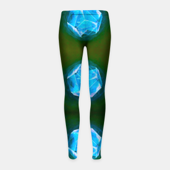 Thumbnail image of Cool Art-I-Fact  Girl's leggings, Live Heroes