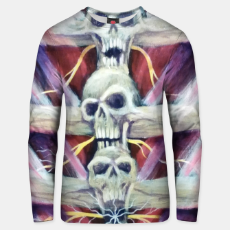 Thumbnail image of Back pains Unisex sweater, Live Heroes