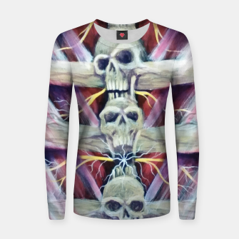 Thumbnail image of Back pains Women sweater, Live Heroes
