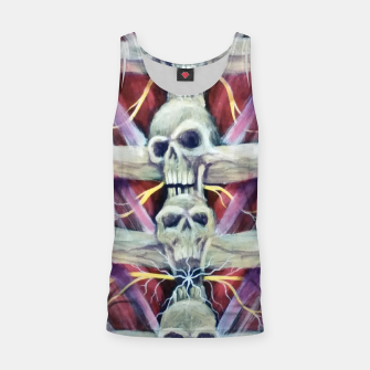 Thumbnail image of Back pains Tank Top, Live Heroes