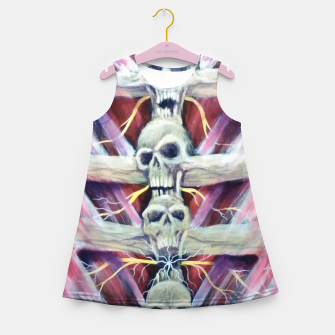 Thumbnail image of Back pains Girl's summer dress, Live Heroes