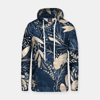 Thumbnail image of Gold Blue Jungle Hoodie, Live Heroes