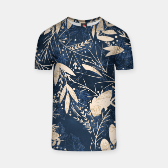 Thumbnail image of Gold Blue Jungle T-shirt, Live Heroes