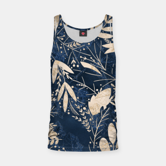 Thumbnail image of Gold Blue Jungle Tank Top, Live Heroes