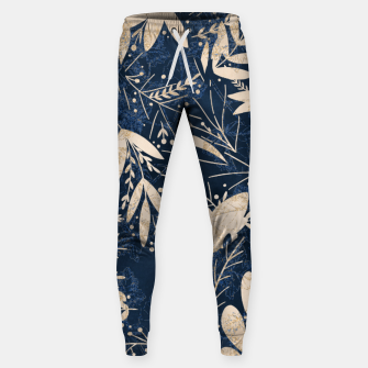 Thumbnail image of Gold Blue Jungle Sweatpants, Live Heroes