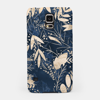 Thumbnail image of Gold Blue Jungle Samsung Case, Live Heroes