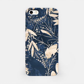 Thumbnail image of Gold Blue Jungle iPhone Case, Live Heroes