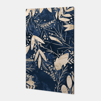 Thumbnail image of Gold Blue Jungle Canvas, Live Heroes