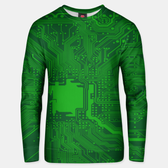 Miniatur Computer Age (Circuit Board) 2 Unisex sweater, Live Heroes