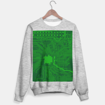 Miniatur Computer Age (Circuit Board) 2 Sweater regular, Live Heroes