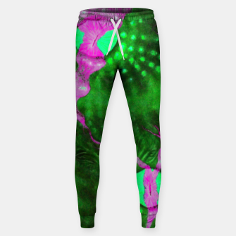 Purple striped green chalice Sweatpants thumbnail image