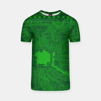 Miniatur Computer Age (Circuit Board) 2 T-shirt, Live Heroes