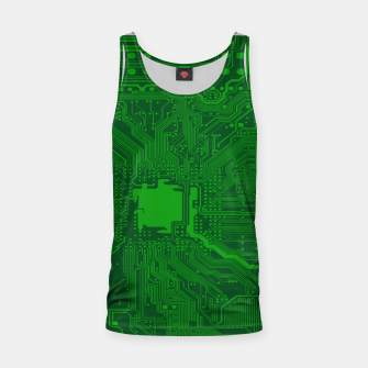 Miniatur Computer Age (Circuit Board) 2 Tank Top, Live Heroes