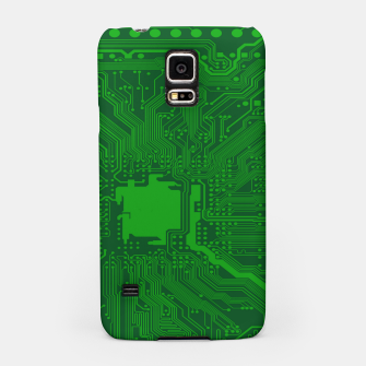 Miniatur Computer Age (Circuit Board) 2 Samsung Case, Live Heroes