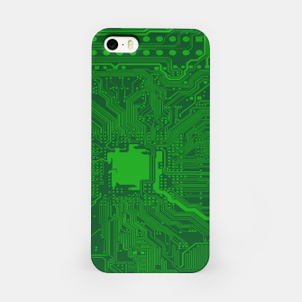 Miniatur Computer Age (Circuit Board) 2 iPhone Case, Live Heroes