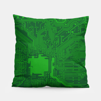 Miniatur Computer Age (Circuit Board) 2 Pillow, Live Heroes