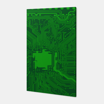 Thumbnail image of Computer Age (Circuit Board) 2 Canvas, Live Heroes