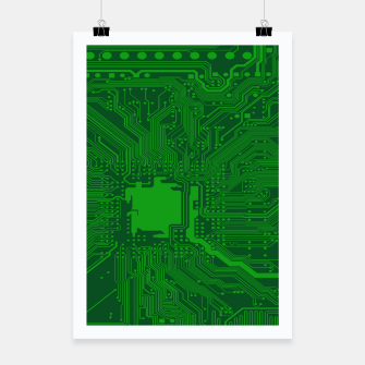 Miniatur Computer Age (Circuit Board) 2 Poster, Live Heroes