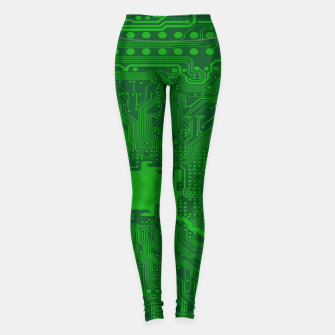 Thumbnail image of Computer Age (Circuit Board) 2 Leggings, Live Heroes