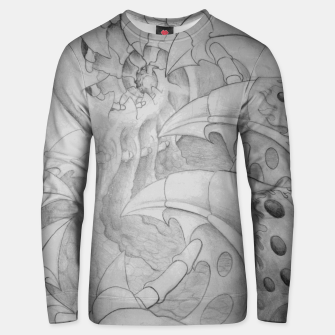 Thumbnail image of Biomech tunnel Unisex sweater, Live Heroes