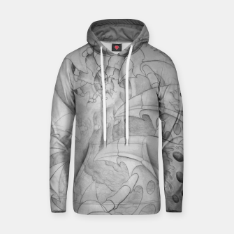 Thumbnail image of Biomech tunnel Hoodie, Live Heroes