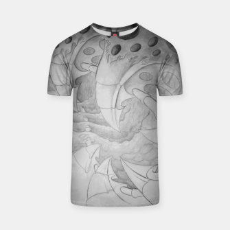 Thumbnail image of Biomech tunnel T-shirt, Live Heroes