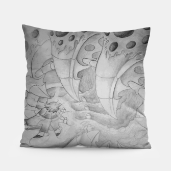 Thumbnail image of Biomech tunnel Pillow, Live Heroes