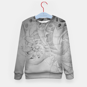 Thumbnail image of Biomech tunnel Kid's sweater, Live Heroes