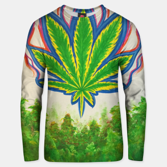 Thumbnail image of Ganja Fields Unisex sweater, Live Heroes