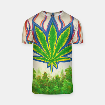 Thumbnail image of Ganja Fields T-shirt, Live Heroes