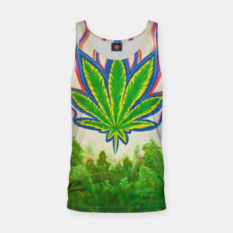 Thumbnail image of Ganja Fields Tank Top, Live Heroes