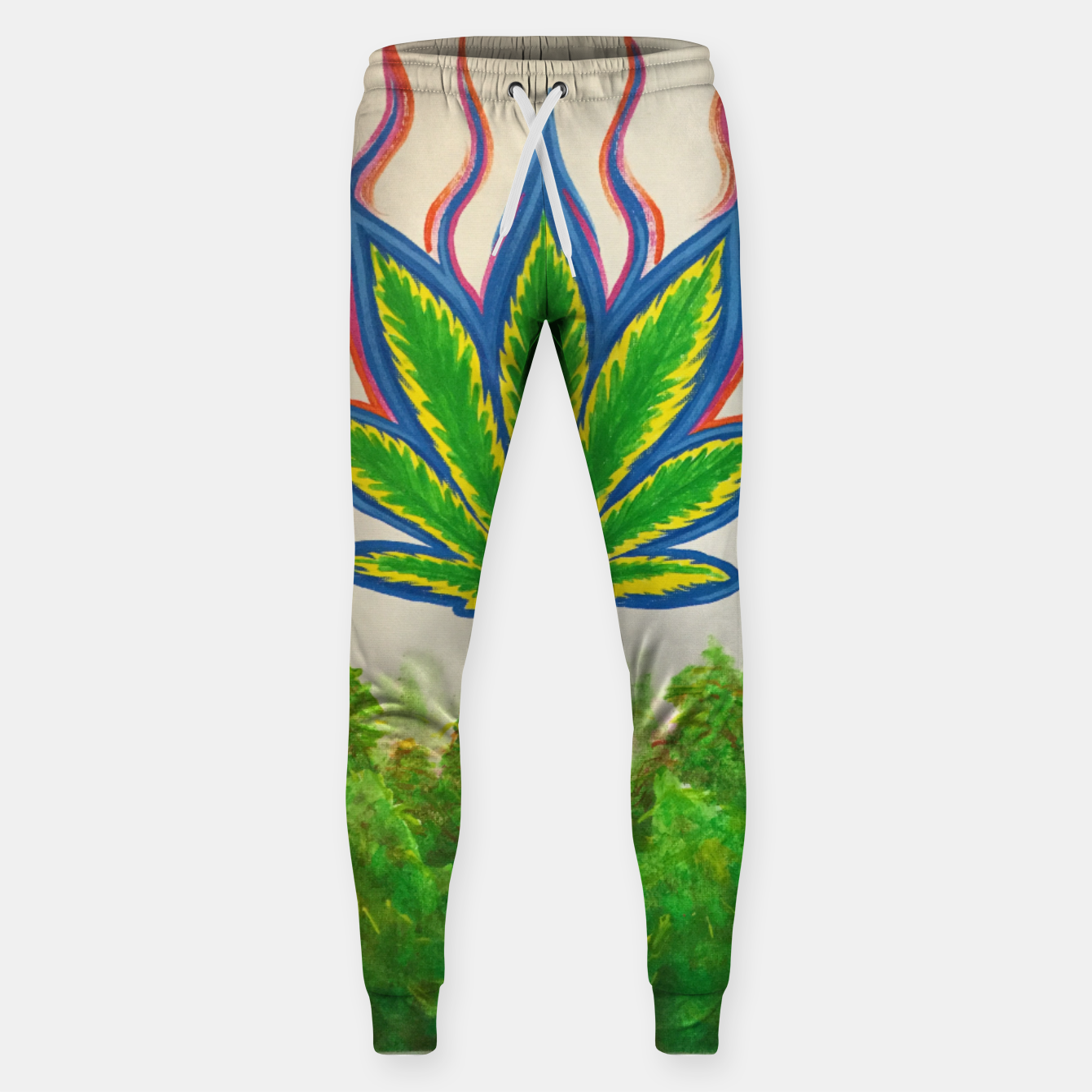 Image of Ganja Fields Sweatpants - Live Heroes